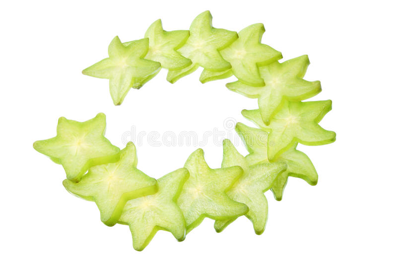 Download Slices Of Star Fruit Stock Photography - Image: 26534732