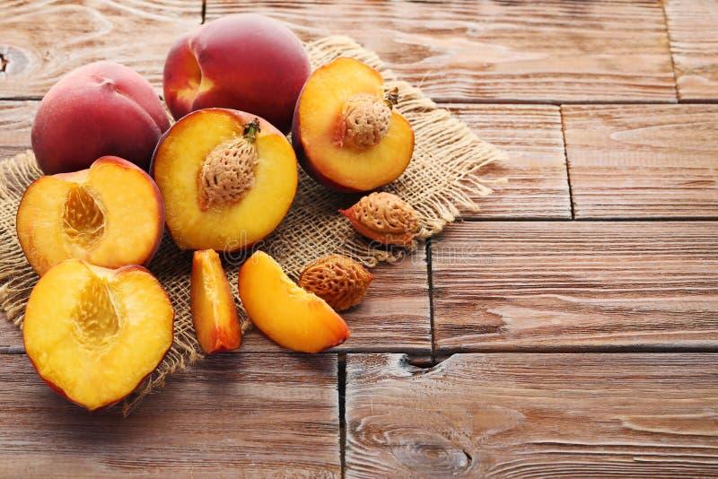 Sweet nectarines fruit royalty free stock image
