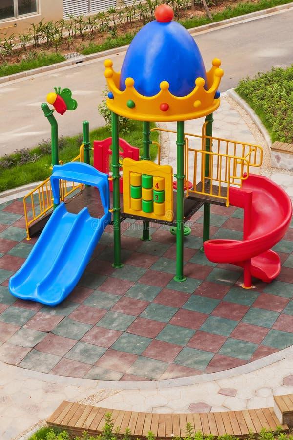 Download Slide stock photo. Image of children, game, tree, yellow - 25709832