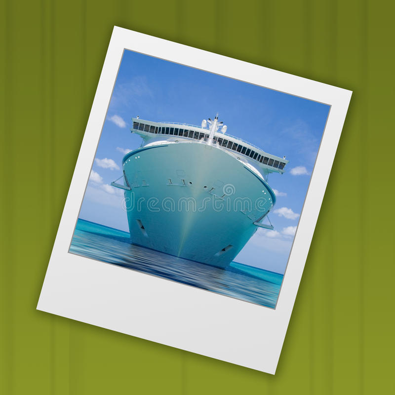 Slide Cruise Ship Royalty Free Stock Photos