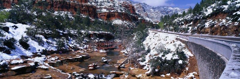 Slide Rock Creek royalty free stock photos