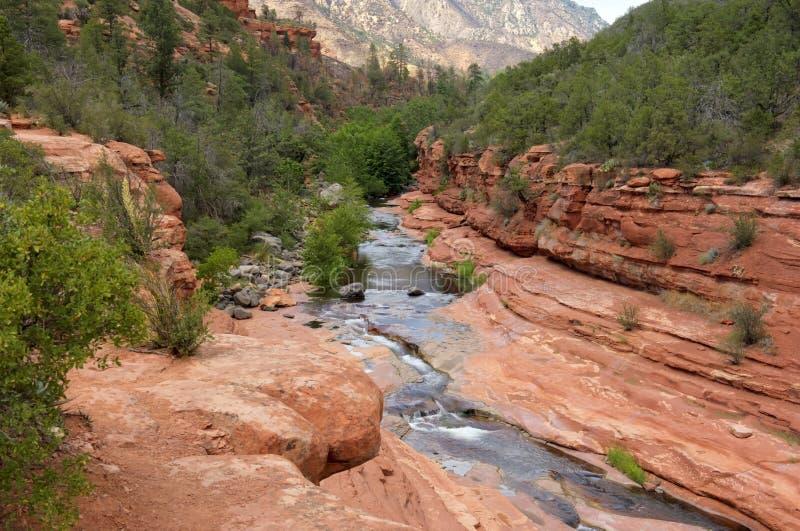 Slide Rock State Park, Arizona stock photo
