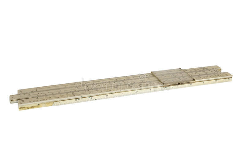 Slide Ruler Royalty Free Stock Images