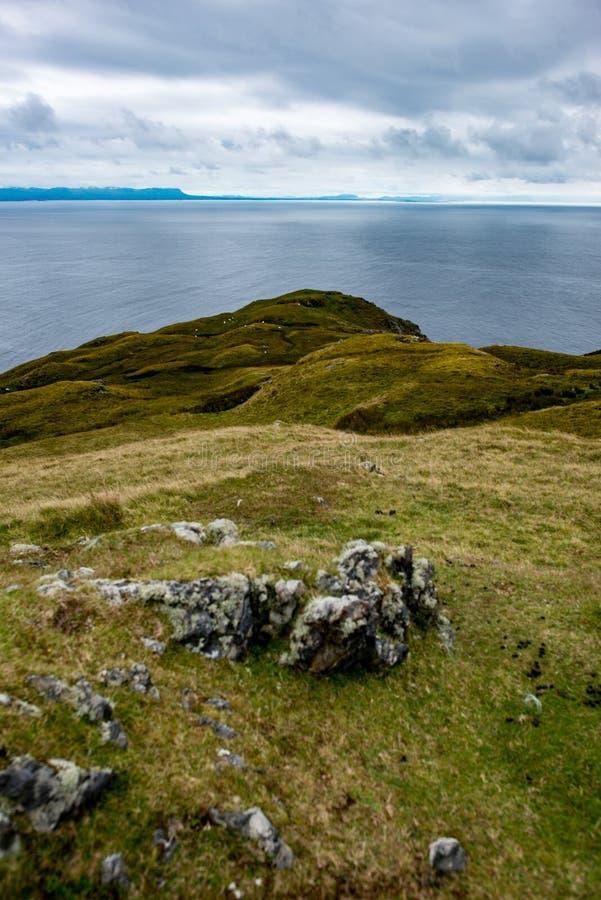 Slieve-Liga-Klippen, Grafschaft Donegal, Irland lizenzfreies stockbild