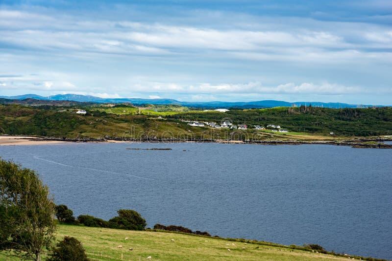 Slieve-Liga-Klippen, Grafschaft Donegal, Irland stockbild