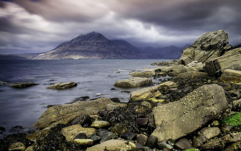 Sligachan, остров Skye, Шотландии стоковые фото