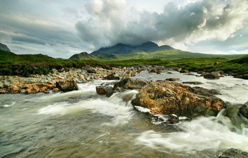 Sligachan River royalty free stock image