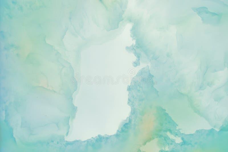 Slight a brouillé le marbre éclairé de tranches photographie stock