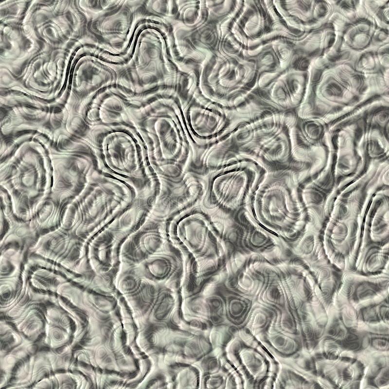 Slijm en griezelig organisch weefsel royalty-vrije stock afbeelding