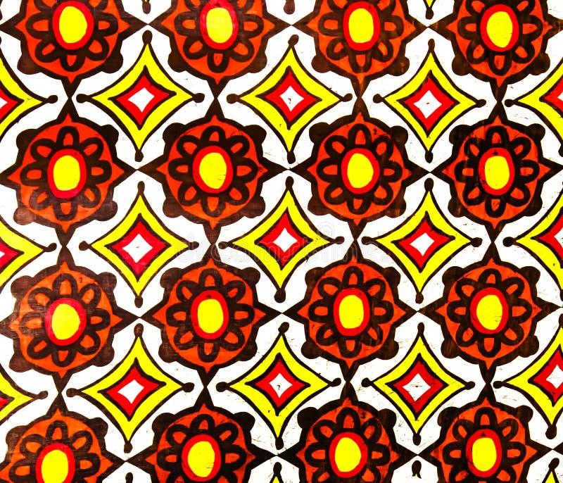 Slik Batik Fabric Stock Image. Image Of Graphic, Design