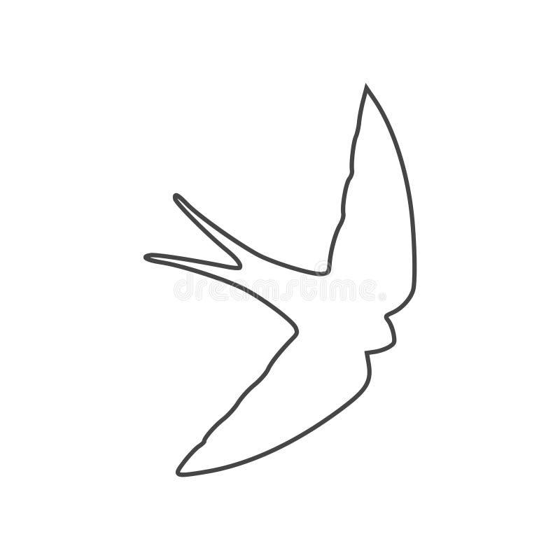 Slik pictogram, slik embleem royalty-vrije illustratie