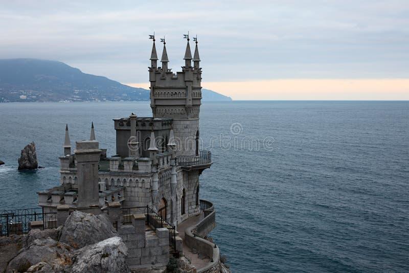 Slikten het kasteel van het Nest royalty-vrije stock afbeeldingen