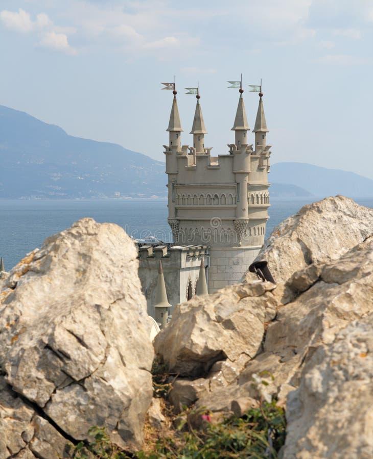 Download Slikten Nest (de Krim) stock afbeelding. Afbeelding bestaande uit overzees - 10782117
