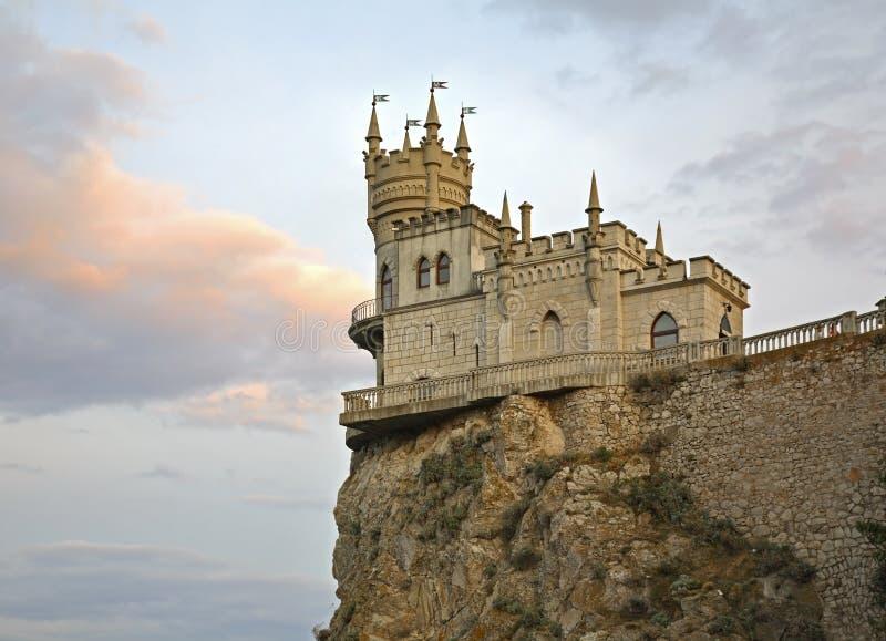 Slikten Nest in Gaspra crimea ukraine royalty-vrije stock afbeeldingen