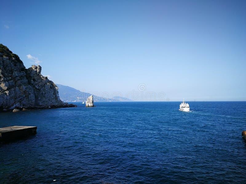 Slikten Nestkasteel, Gaspra, Yalta-areaCrimea stock afbeeldingen