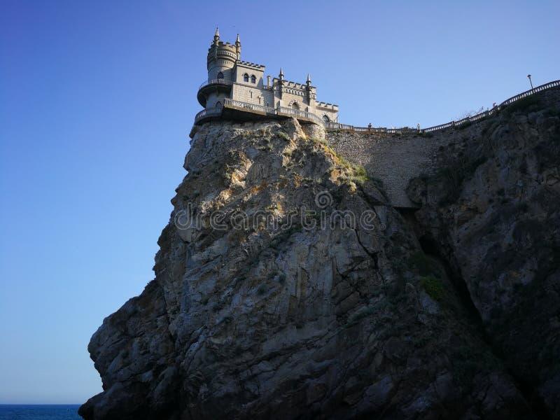 Slikten Nestkasteel/Gaspra/Yalta-gebied/de Krim 22/05/2019 royalty-vrije stock afbeelding