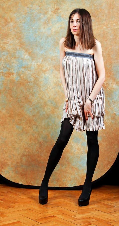 Download Slim girl stock photo. Image of studio, beauty, female - 18416756