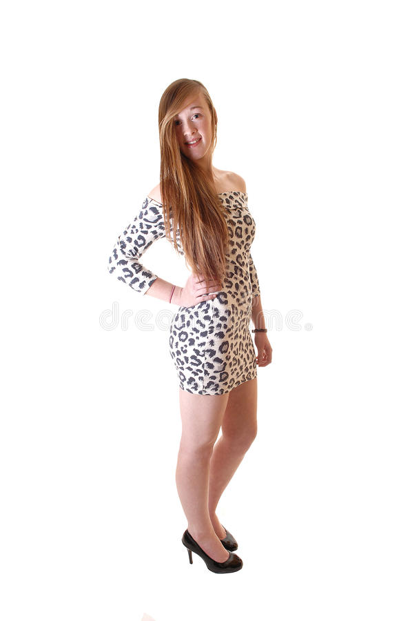 Slim girl. royalty free stock photos