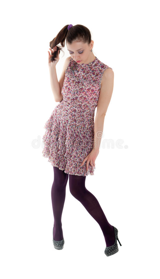 Slim Girl Royalty Free Stock Image