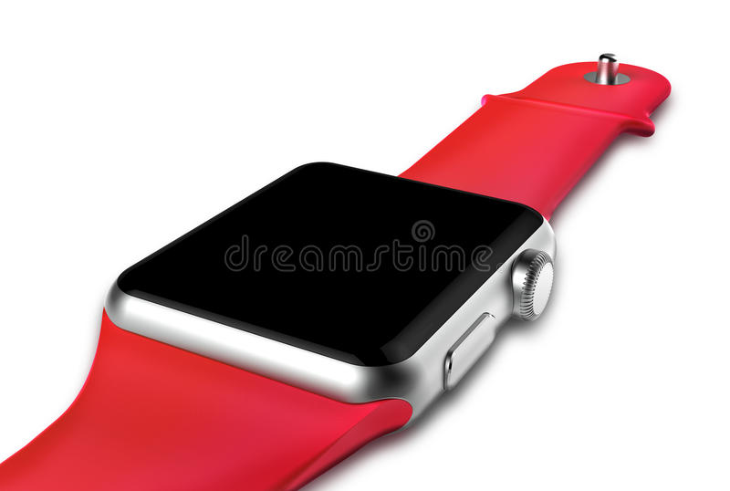 Slim horloge stock illustratie