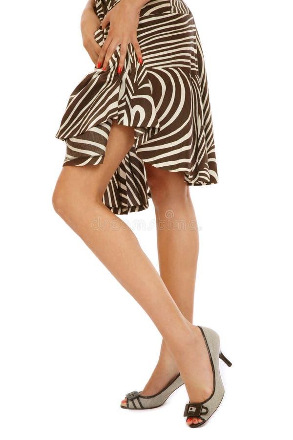 Download Slim legs stock photo. Image of skirt, pedicure, girl - 10978434