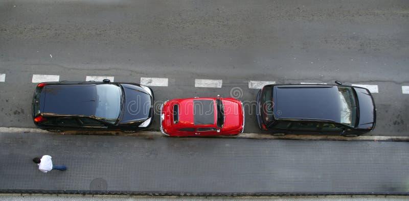 Slim parkeren stock afbeelding