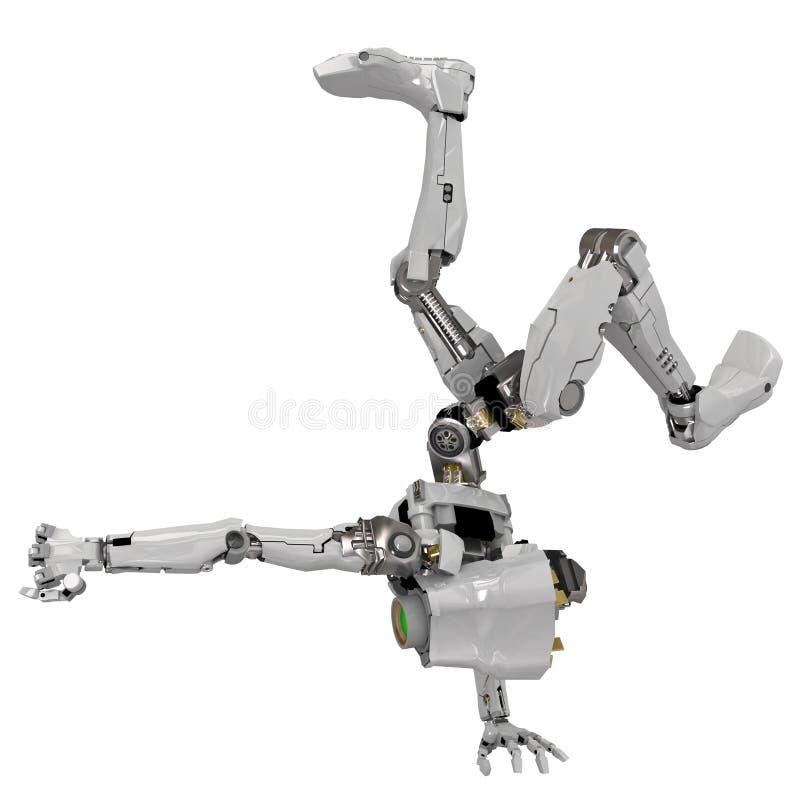 Download Slim Robot, Acrobatic stock illustration. Illustration of futuristic - 7339554