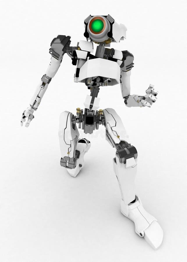 Download Slim Robot, Dash stock illustration. Image of intelligence - 5717878