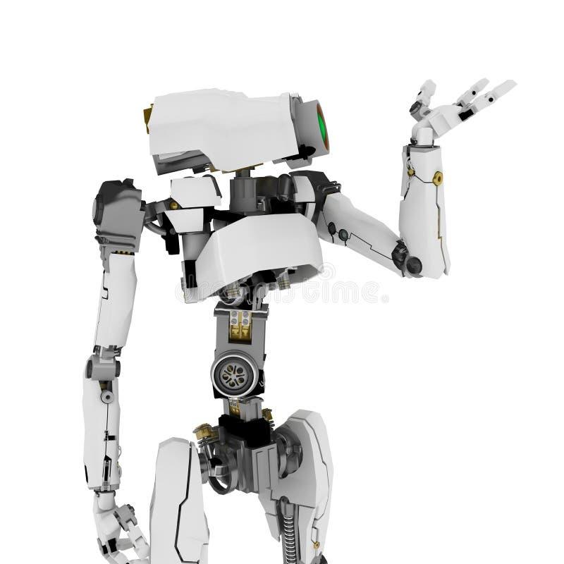 Download Slim Robot, Palm stock illustration. Image of device, mechanical - 5795558