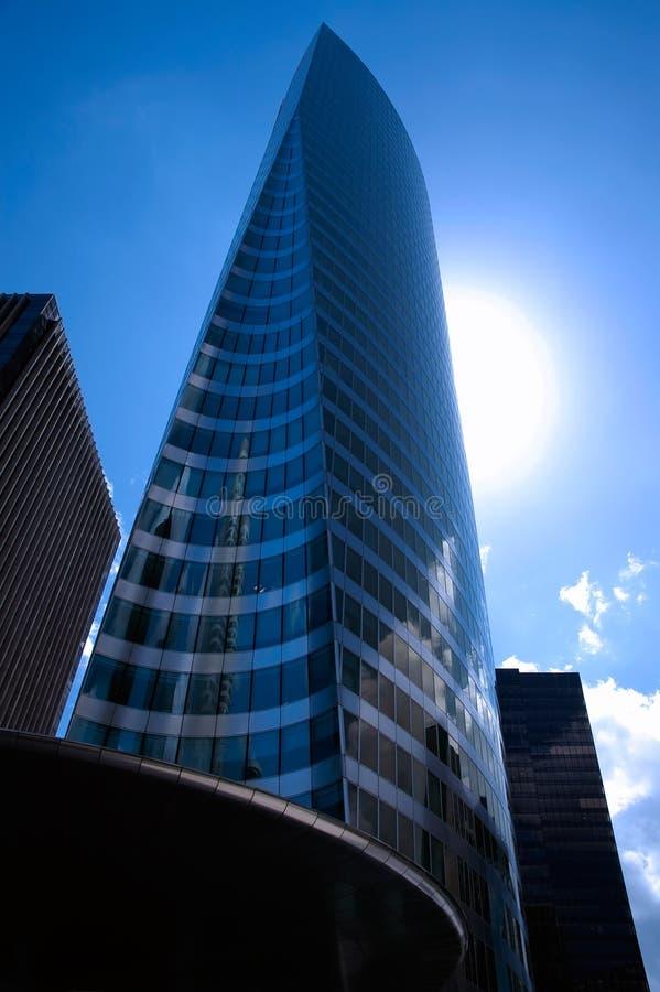 Slim skyscraper in Paris royalty free stock image