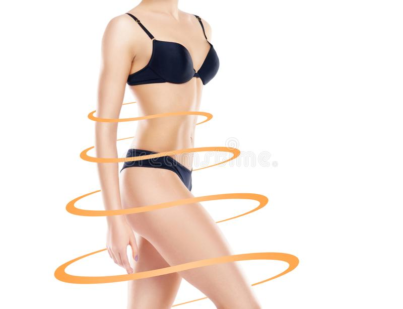 Life style bikini body slim down