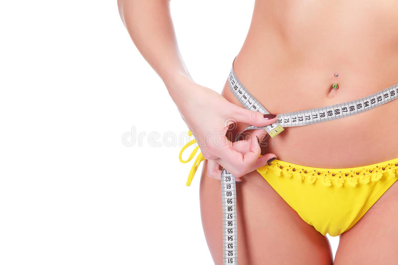 Download Slim waist stock photo. Image of girl, diet, isolated - 24633914
