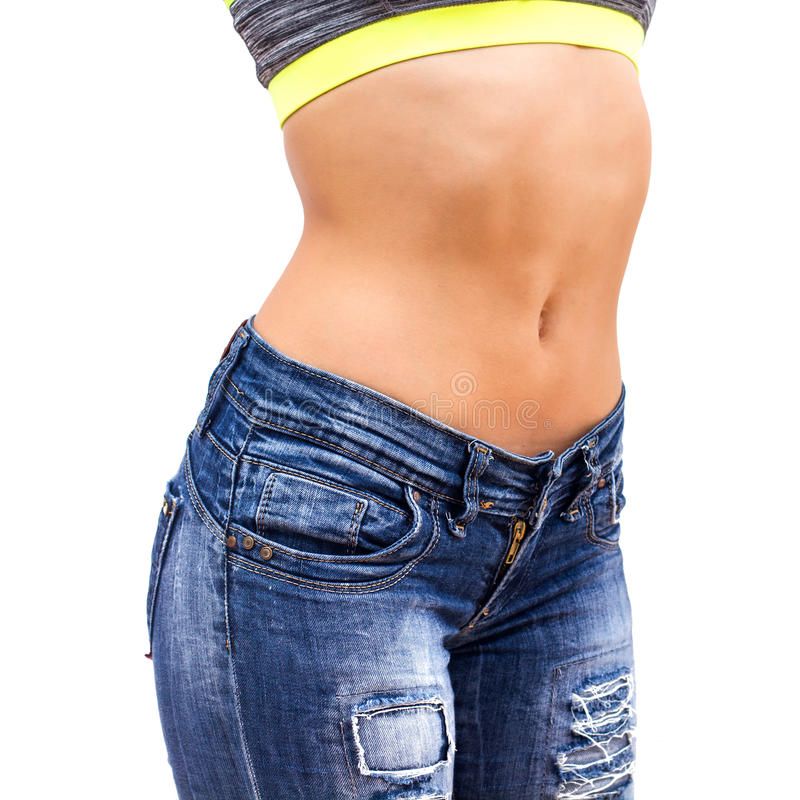 Slim Woman Waist stock photography