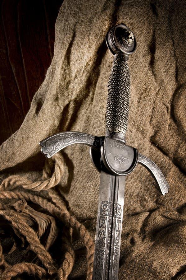 Slim zwaard royalty-vrije stock afbeeldingen