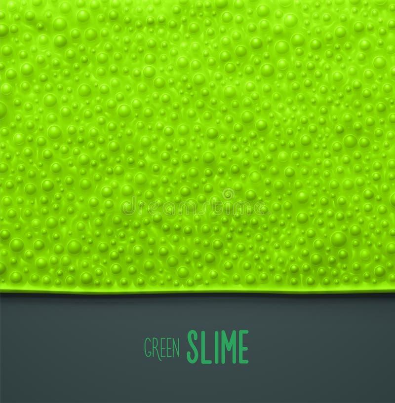 Slime verde ilustração royalty free