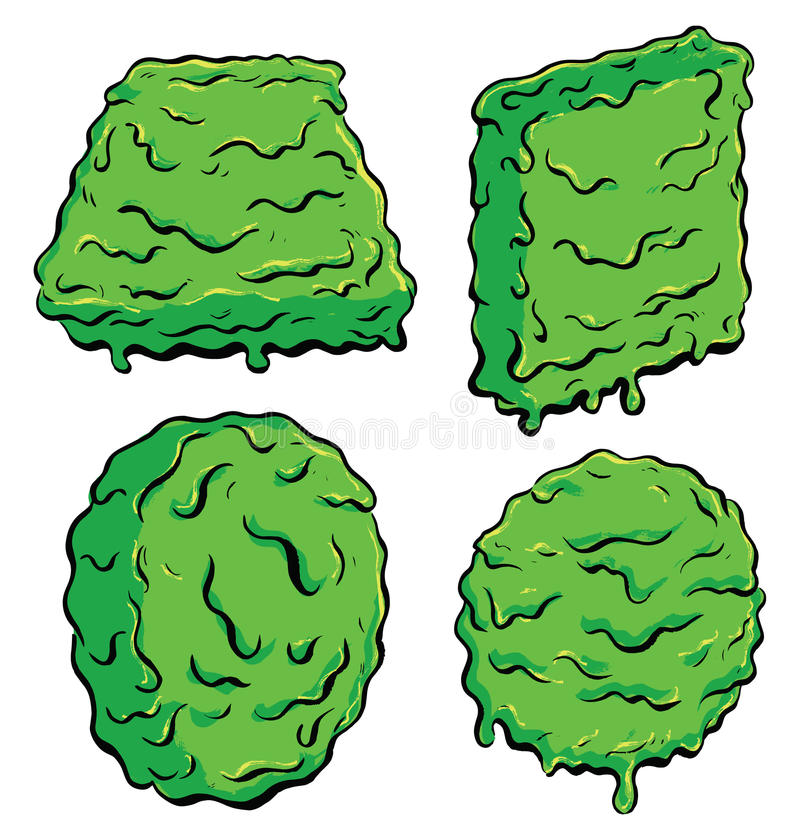 Download Slimey Shapes Stock Photo - Image: 27865260