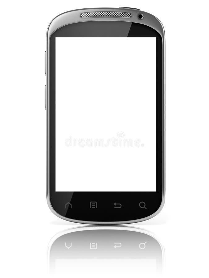 Slimme geïsoleerde telefoon vector illustratie