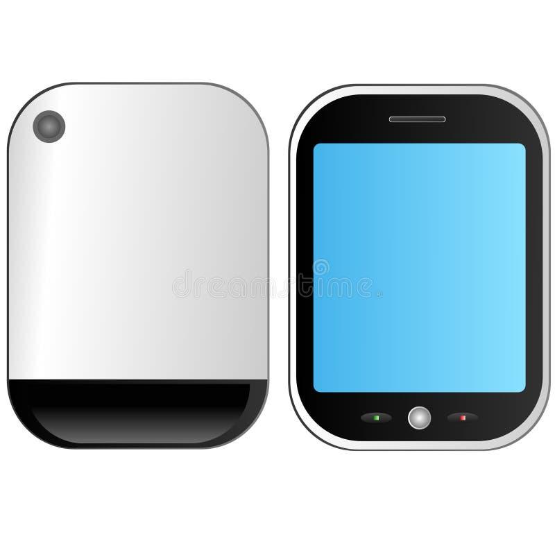Slimme telefoon vector illustratie
