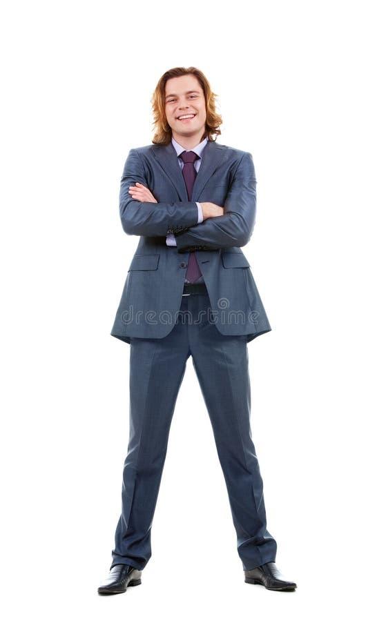 Slimme zakenman stock foto