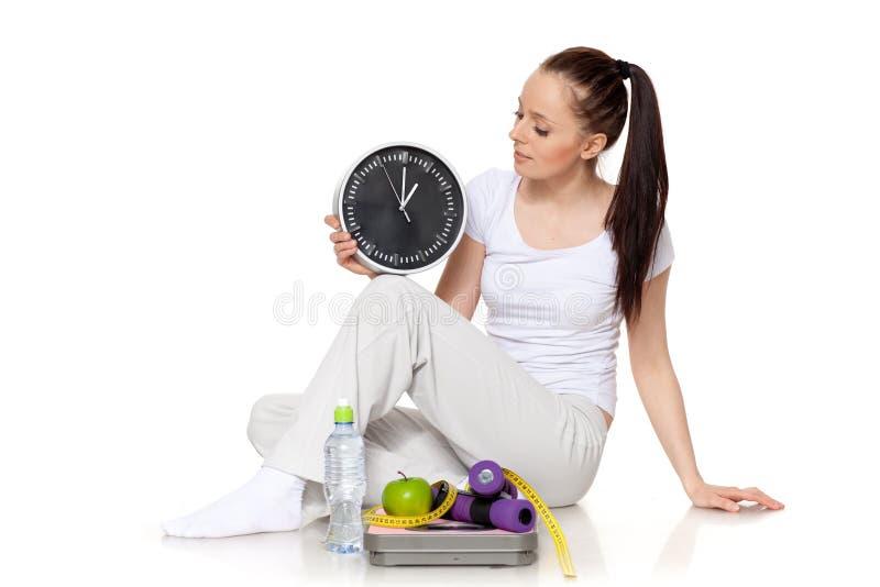 slimming время стоковая фотография