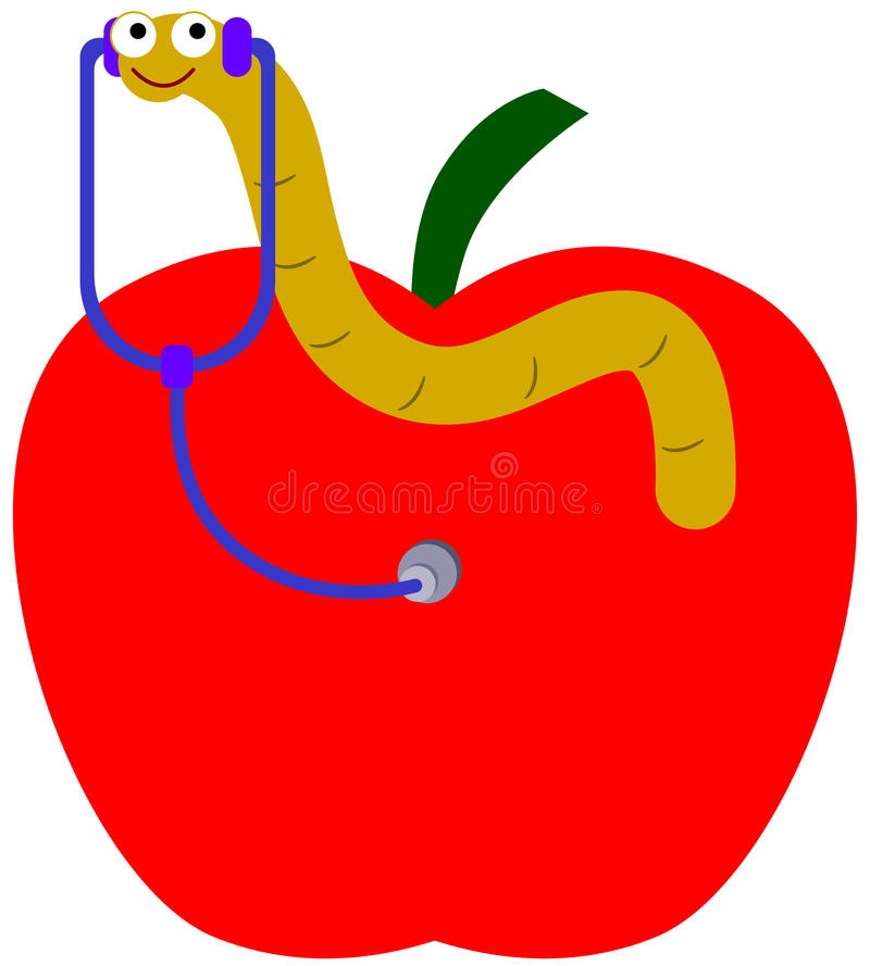 Download Slimy doctor stock illustration. Illustration of food - 33337971