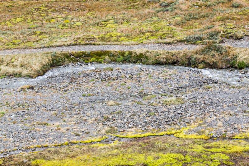 Slinga i den krigs- glaciären arkivfoto