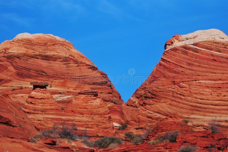 Slinga till vågen, Arizona royaltyfri fotografi