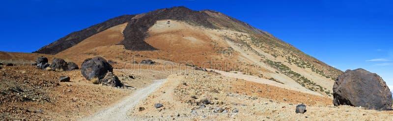 Slinga till vulkan Teide och ägg Tenerife royaltyfri fotografi