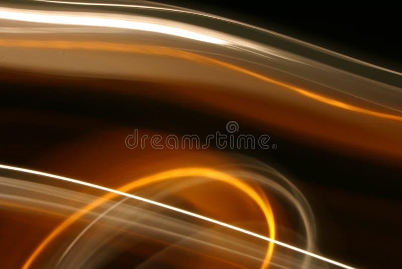Slingor av ljus i rörelse arkivbilder