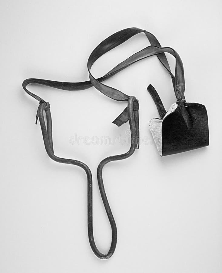 slingshot fotografia stock