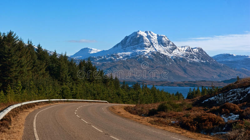 Download Slioch And Loch Maree From A832 Stock Photo - Image: 13234402