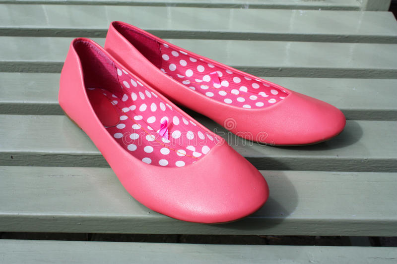 Download Slip-on shoe stock photo. Image of sandal, pink, fabric - 17767948
