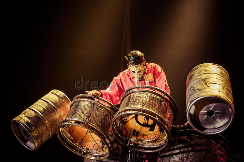Slipknot concert royalty free stock photography