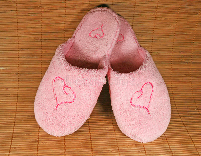 Slippers stock images